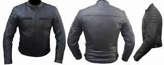 Nero, XL Protezioni CE BIESSE Giacca giubbotto da moto in cordura Tessuto impermeabile Uomo Fodera termica rimovibile