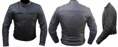 Giacca Per Moto Naked Pelle Protezioni CE Rimovibili Uso anche Senza Moto BIESSE