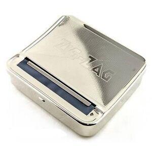 New Zig Zag TIN Automatic Cigarette Tobacco Rolling Machine Box