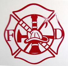 Metal Plasma Wall Art Sign Firefighter Mancave Christmas Gift Idea FIREMAN