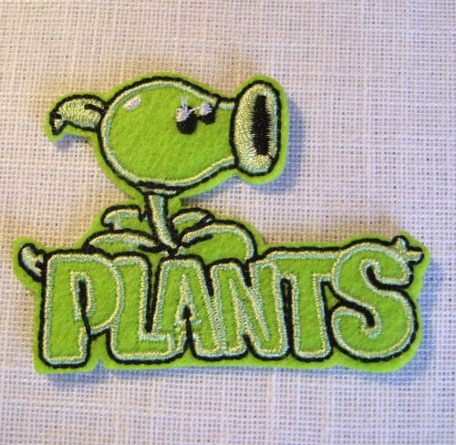 PATCH écusson thermocollant  PLANTS PLANTE VERTE FLEUR ** 6 X 5 cm **