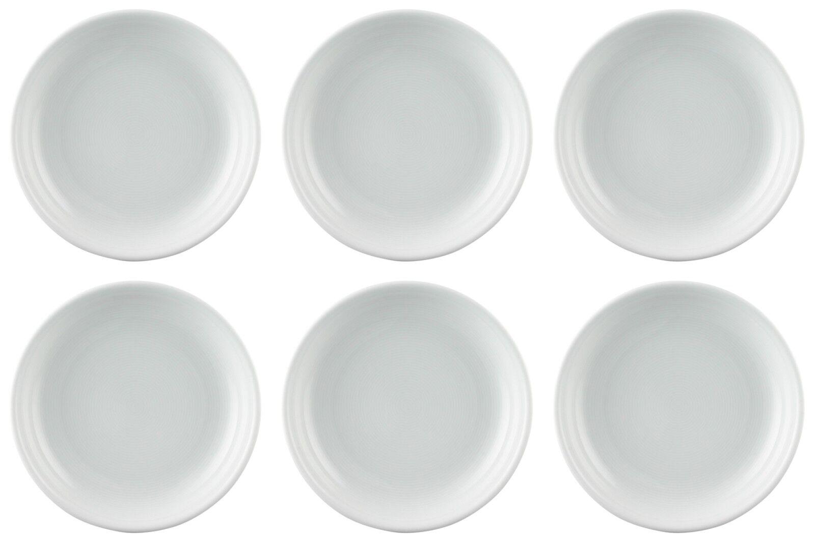 6 x piatti insalata 19 cm di profondità-Thomas TREND BIANCO - 13151-BIANCO-supplementi piatto