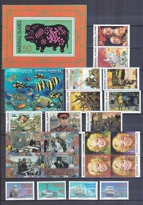 Marshall Insel 1995 Postfrisch Jahrgang Siehe Bilder Spezieller Kauf