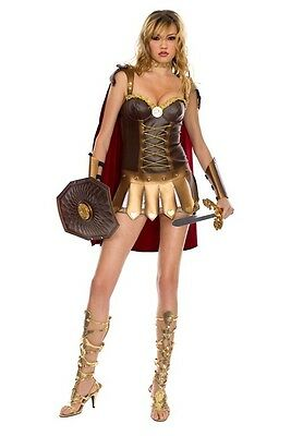 Music Legs 70203 Size M//L and XL Adult Women/'s 4 Piece Roman Warrior Costume