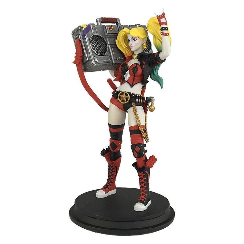 DC COMICS Harley Quinn Renacimiento Boombox San Diego comic-con exclusiva Estatua Edición Limitada