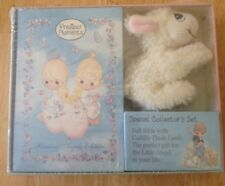 Precious Moments Special Collector's Bible Set With Plush Lamb, New