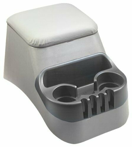 TSI Products 30015 Clutter Catcher Grey Bench Seat Console