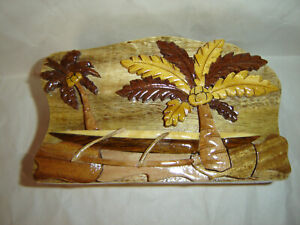 Handcrafted Wooden Jewelry Puzzle Box