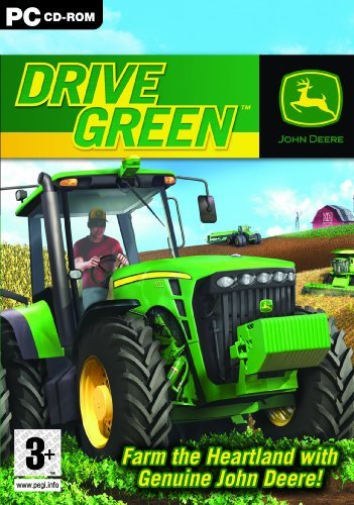 PC Games Reorderable-John Deere Drive Green Pc  GAME NEUF
