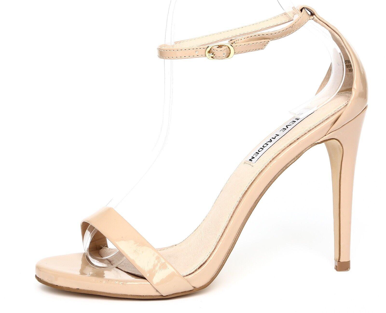 qualità ufficiale Steve Madden Stecy Patent Leather Nude Ankle Strap Sandal Sandal Sandal Heels Sz 7.5M 5115  fornire un prodotto di qualità