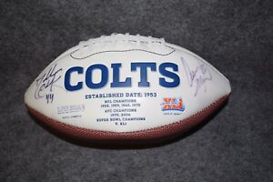 Indianapolis-Colts-Signed-Autographed-Football-Super-Bowl-XLI-2006