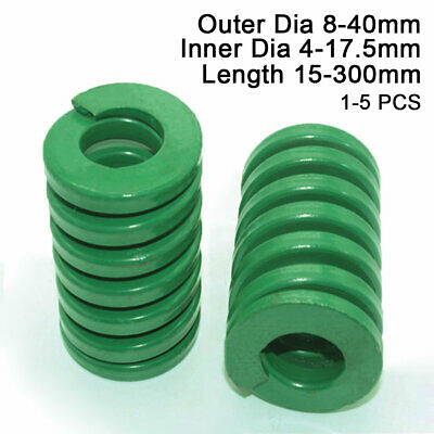 20mm OD Brown Extra Heavy Duty Compression Stamping Mould Die Spring 10mm ID All