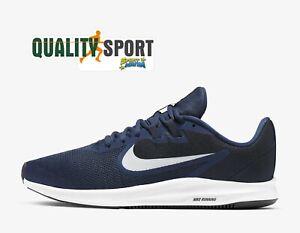 Detalles de Nike Downshifter 9 Azul Zapatos Hombre Deportivos Running  AQ7481 401 2020