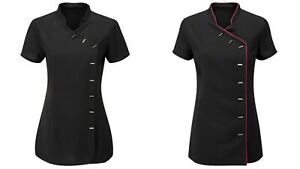 Women-039-s-Tunic-Beauty-Hairdressing-SPA-Therapist-Massage-Salon-Uniform-Beautician