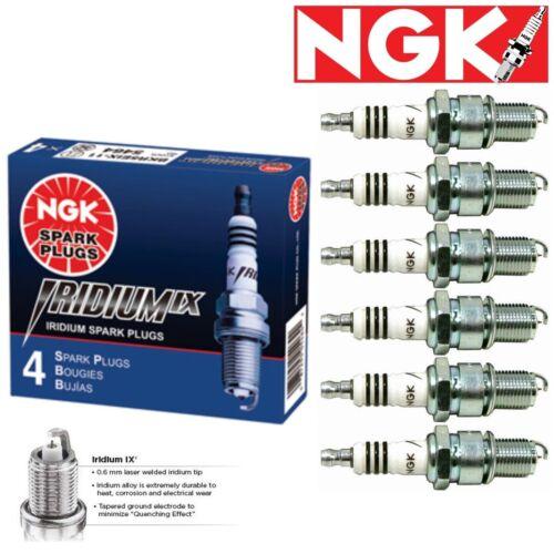 6 pcs NGK Iridium IX Plug Spark Plugs 1996-2000 for Nissan Pathfinder 3.3L V6
