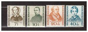 S31560-Germany-1955-MNH-Welfare-4v