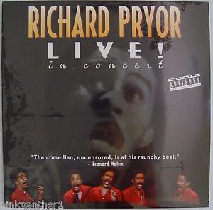 Richard-PRYOR-Live-in-Concert-UnInhibited-UnCensored-Comedy-1979-Laserdisc-NEW