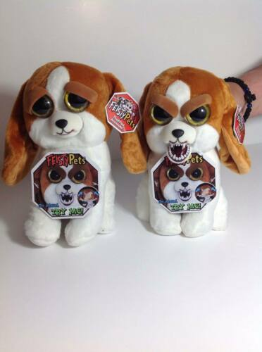 New Feisty Pets Glenda Fox Dog Owl Giraffe Unicorn Plush Kids Fun Toys Gifts h46
