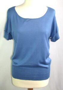 Darel Size Gerard amp; Condition Cotton Silk Top M 38 Perfect Short Blue 2 dq1X1w8