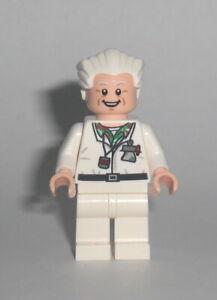 LEGO Zurück in die Zukunft - Doc Brown - Figur Minifigur Marty McFly Ideas 21103