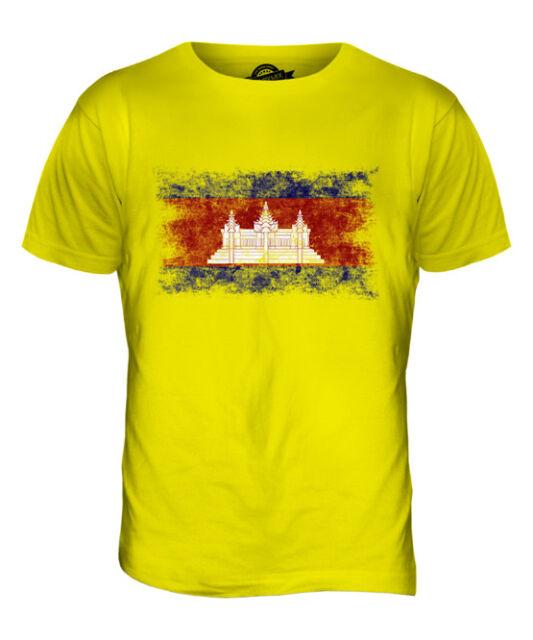 KEEP CALM I AM CAMBODIAN CAMBODIA FLAG Unisex Adult T-Shirt Tee Top