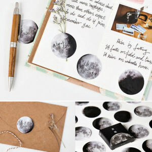 45Pcs-box-Mini-Moon-Planet-Calendar-Paper-Sticker-DIY-Diary-Scrapbooking-Label