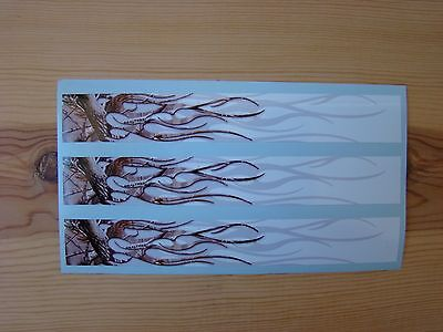 TEAM REALTREE CUSTOM ARROW WRAPS REALTREE FLAMES 13 PACK 7 INCHES LONG