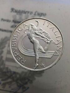 500-Livre-Leichtathletik-1987-Pp-Proof-der-Republik-Italienisch-Gedenkmuenzen