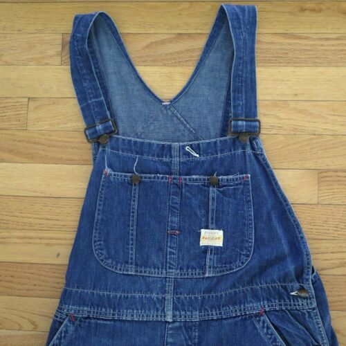 VINTAGE ORIGINAL WORKWEAR CHORE OVERALL PAY DAY JC