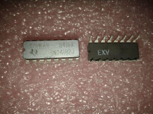 TTL//H//L SERIES 4-BIT LOOK-AHEAD CARRY GENERATOR 3x TI SN74182J CDIP-16