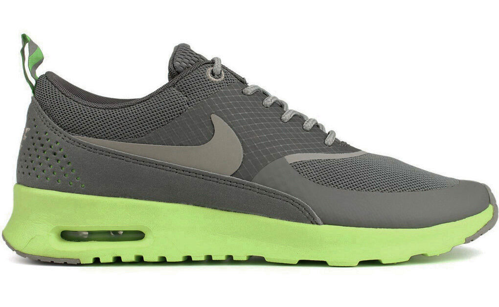 2013 NIKE AIR MAX THEA lotc GREY/FLASH LIME US 7-9 lotc THEA 599409-004 flyknit premium 1 af812a