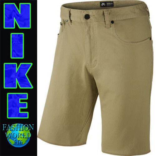399e11d67b65 Nike Men s Size 28 SB FTM Stretch 5 Pocket Skateboarding Shorts 707854 235  for sale online