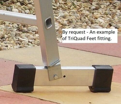 TriQuad Ladder Feet - Packs of 1 or 2 pairs. for Ladder Stabiliser Base Bars