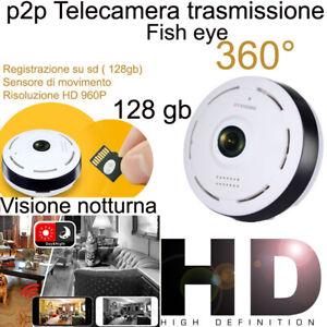 Telecamera-HD-1080P-WiFi-Camera-Wireless-IP-Camera-RETE-INTERNET-IR-LEDS-360