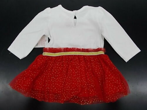 """12m Infant Girls Rudolph 2pc /""""Light Up My Life/"""" Holiday Outfit Size 3m"""