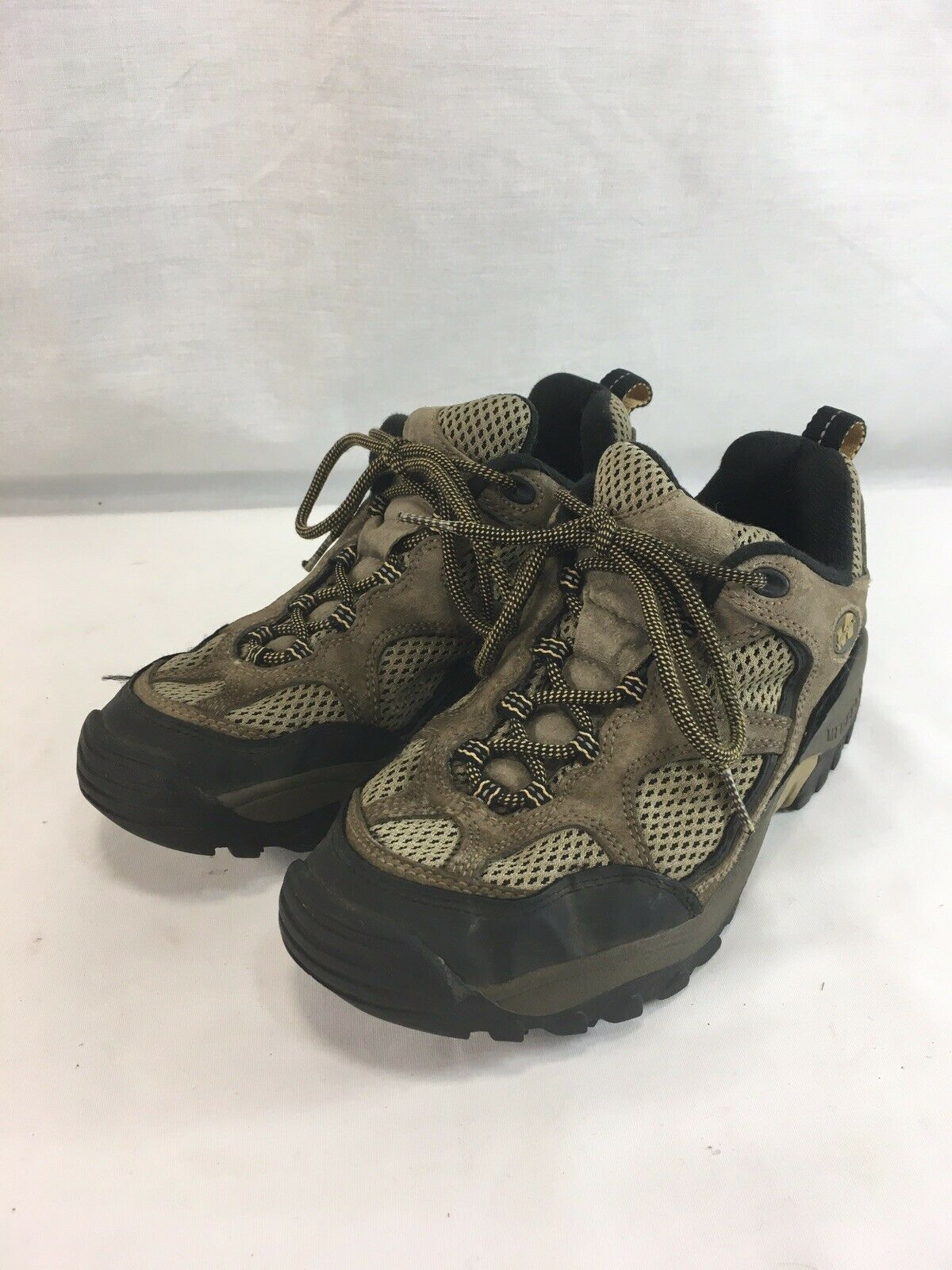 Merrell Hiking Trail scarpe da ginnastica scarpe donna 7.5 Baja Ventilator Walnut Low Top