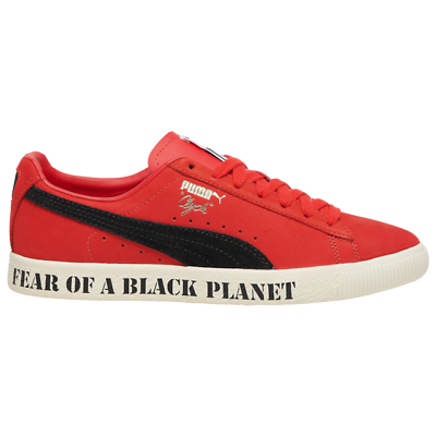 NIB * Herren Puma x Staatsfeind Clyde Sneaker * rot schwarz