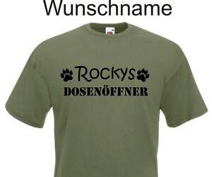 Das Bild Wird Geladen T Shirt Hund Katze Sprueche Spruch DOSENOFFNER Hunde