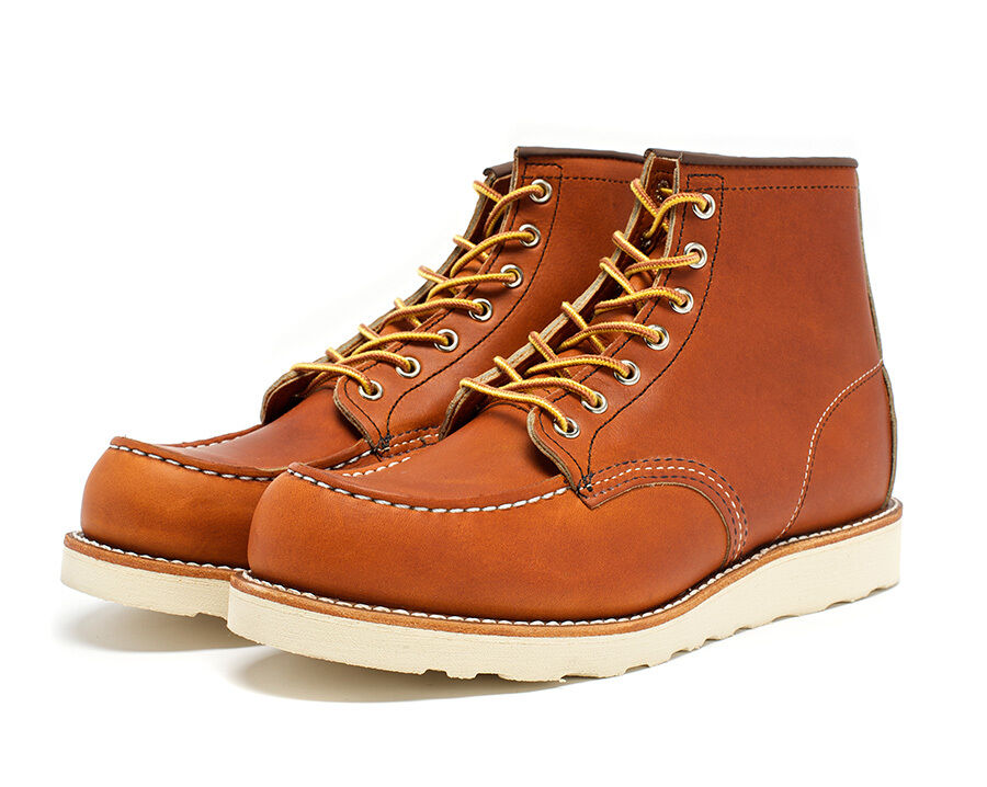 RED WING BOOT 6  CLASSIC MOC gold LEGACY STYLE 875 MADE IN THE USA WIDTH EE