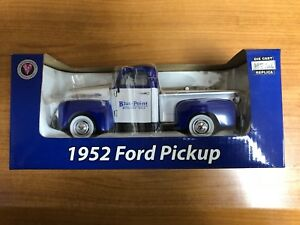 Snap On / Point bleu 1954 Ford Pick Up échelle 1:24 coulé sous pression