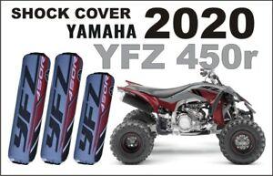 Stossdaempfer-Federbeinschuetzer-Quad-ATV-Shock-Covers-Yamaha-YFZ-450-R