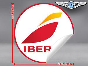 IBERIA-NEW-ROUND-LOGO-DECAL-STICKER