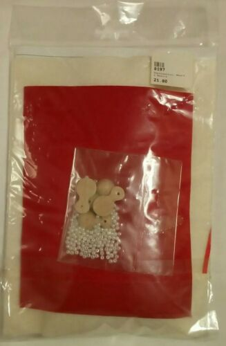 De Witte Engel Texel Flower Children Kit felt mini dolls handcraft 12cm 4in tall