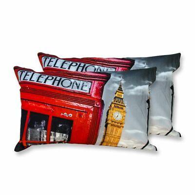 Analitico Coppia Federe Per Guanciale London Rosso I Love Sleeping Stampa Digitale 3d C... Le Materie Prime Sono Disponibili Senza Restrizioni