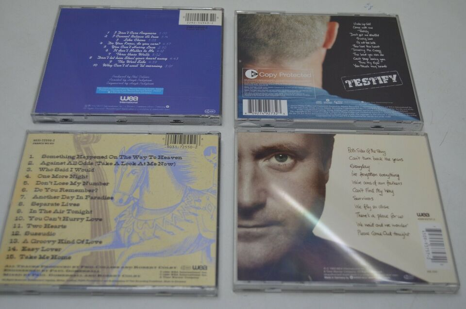 Phil Collins: Live, pop