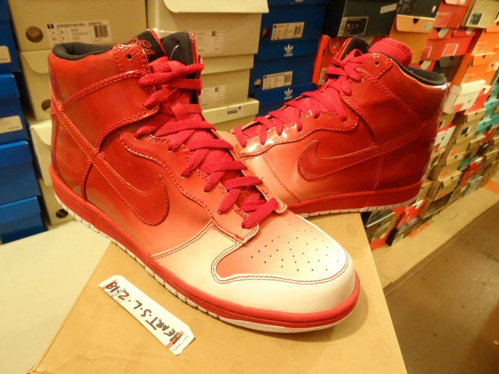 e90a637c5df NEW Nike Dunk SB High Spark Destroyers Pack RED 349710-161 SZ 13 DOOM  Supreme njhqfh5282-Athletic Shoes