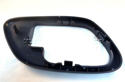 Blue Inside Door Handle Bezel Trim without Lock Hole Passenger Side Front Rear