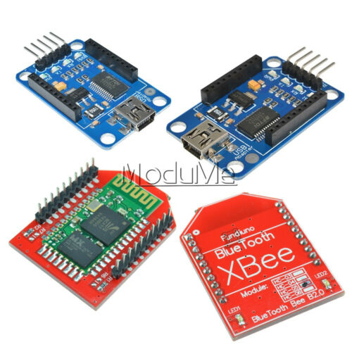 Arduino Bluetooth Bee Master and Slave module with Bluetooth Bee Xbee Adapter M