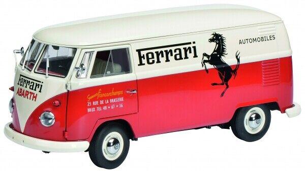 1  18 Schuco VW T1 Kasten Ferrari Francorchamps 450036700