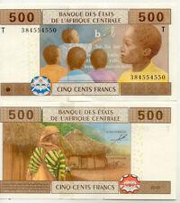 Billet banque AFRIQUE CENTRALE CONGO 500 FRANCS 2002 NEUF NEW UNC